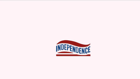 US Independence Day: mini intro animation 4 Stock Video Footage