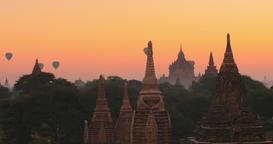 Bagan Sunset 4K Footage