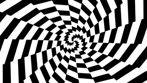 Abstract hypnotic motion Animation