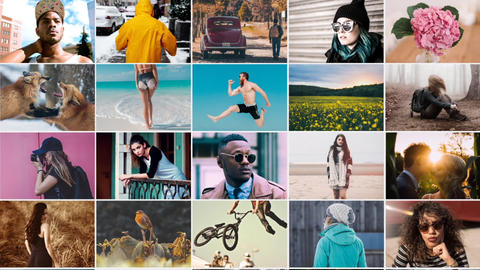 Short Photo Opener After Effects Template