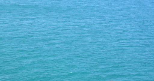 Blue Ocean Water Texture Background Footage