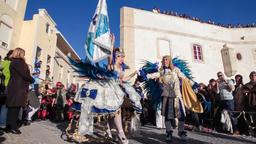carnaval samba porta bandeira mestre sala Brazilian carnival mardi gras Brazil Footage