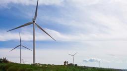 wind energy turbine generator turbines production ecological power electricity Footage