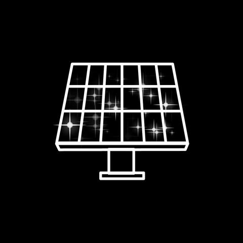Solar battery Animation