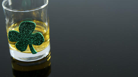 glass of whiskey for st patricks Live Action