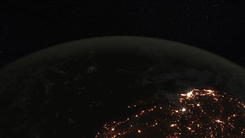 4K Loopable: Planet Earth / Earth From Space / Earth Globe Footage