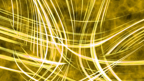 Abstract yellow energy background Animation