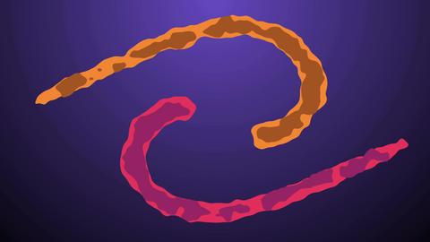 3 Liquid Motion wipes Animation