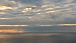 clouds sea ocean time lapse time-lapse timelapse storm sky horizon wind windy Footage