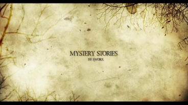 MYSTERY STORIES After Effects Project