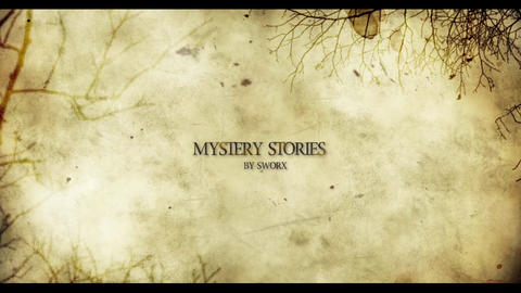 MYSTERY STORIES After Effectsテンプレート