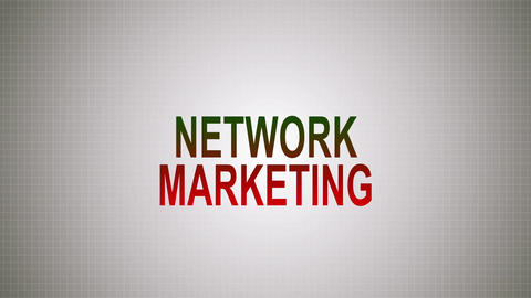 Network marketing is a pyramid Footage