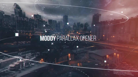 Moody Parallax Opener After Effects Template