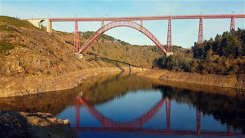 The Garabit Viaduct Footage