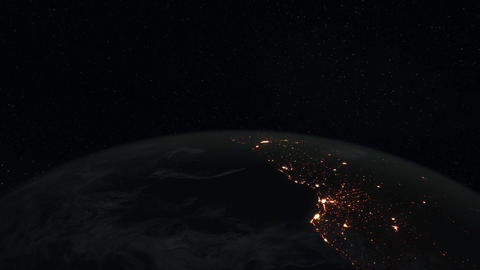 4K Loopable: Planet Earth / Earth From Space / Earth Globe Live Action
