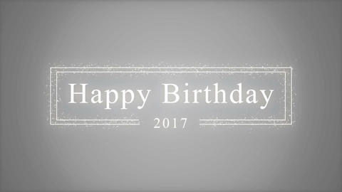 [2017]Happy Birthday[Title] Animation
