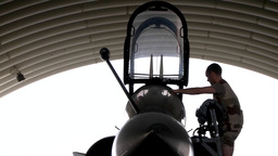 French Air Force Mirage 2000D Footage