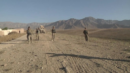 Infantrymen Disrupt Enemy Activity in Eastern Afghanistan Footage