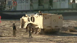 Amphibious landing for Exercise Steel Knight Footage