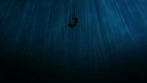 Sinking into the abyss Filmmaterial
