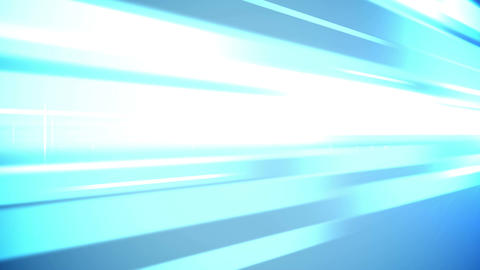 Abstract blue lights business technology background Animation