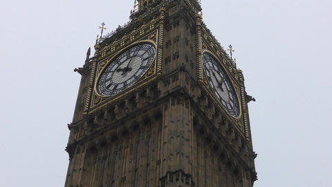 View of the tower of Big Ben Footage