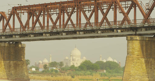 India Taj Mahal A003 C057 0508LK Footage