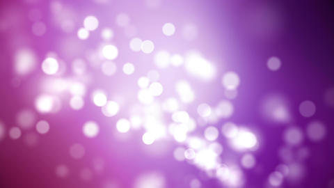 Looping Purple Particle Background Animation