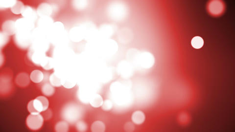 Looping Red Particle Background Animation