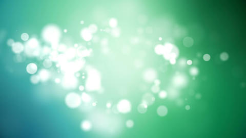 Looping Turquoise Particle Background Animation