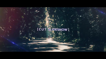 Cinematic SlideShow-Cut After Effects Project
