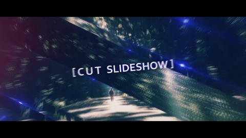 Cinematic SlideShow-Cut After Effects Template