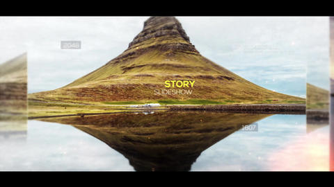 Story Slideshow After Effects Template