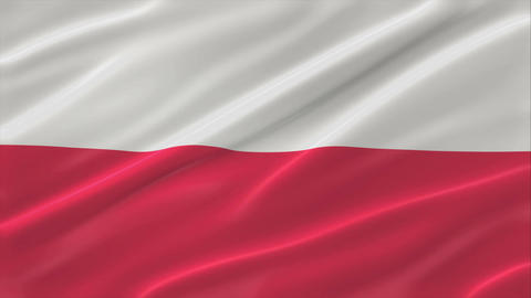 Flag of Poland 4K Animation