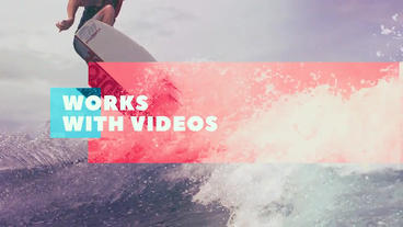 Universal Slideshow After Effects Template