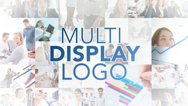 Multi Display Logo - Apple Motion and Final Cut Pro X Template Plantilla de Apple Motion