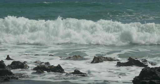 Crashing wave Footage