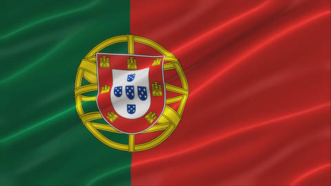 Flag of Portugal 4K Animation