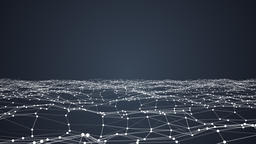 Abstract technology and science background futuristic network フォト