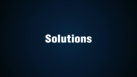 Research, Suggestion, Development, Innovation, Success, animation 'Solutions' Animation