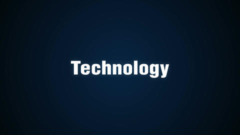 Information, Management, Development, System, Solutions, animation 'Technology' Animation