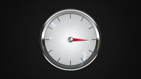 Indicated 3 o'clock point. gauge or watch animation Animation