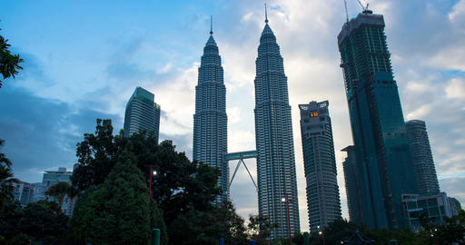 City Skyline KLCC 画像