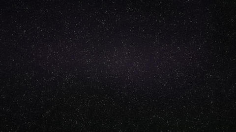 4K Loopable: Dense Realistic Starry Sky With Slowly Twinkling Stars Background Footage