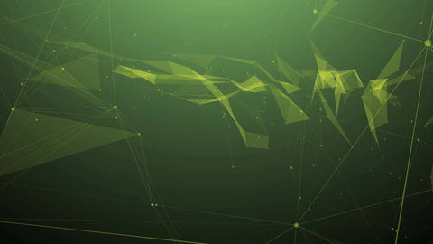 Abstract network connection backdrop Animation