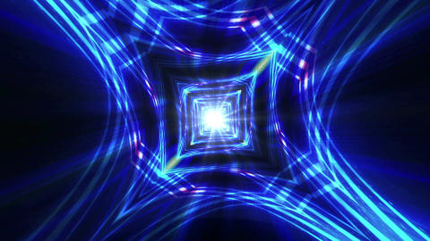 Kaleidoscope Abstract Disco Dance Lights Background Animation, Loop, 4k Animation