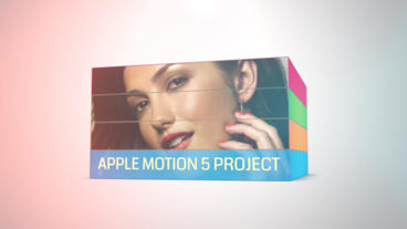 Dynamic Cuboids V2: Template for Apple Motion 5 and Final Cut Pro X Apple-Motion-Projekt