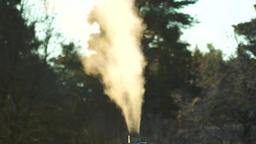 Smoking chimney time lapse Filmmaterial