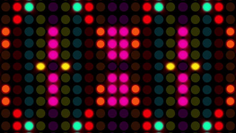 Colourful Polkadot Light 6 Animation