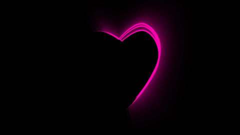 Heart Motion Background 1 Animation